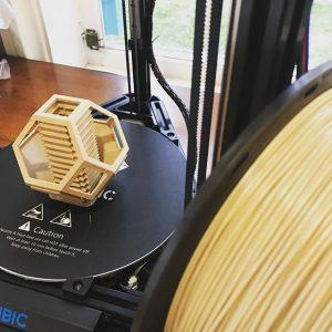 3Dプリンター出力